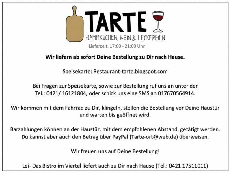 Tarte - Flammkuchen, Wein und Leckereien: Steintor