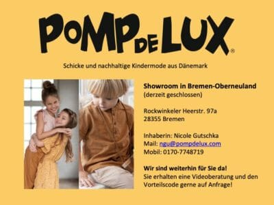 POMPdeLUX Kindermode - Showroom & Beratung