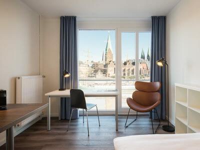 Apartments im Zentrum - Wohnen auf Zeit mit einmaligem Weserblick