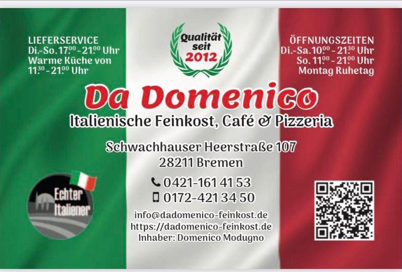 Da Domenico italienische FEINKOST-Pizzeria